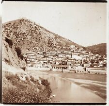 Albanie Photo Plaque de verre Stereo Positive E16 Vintage ca 1910