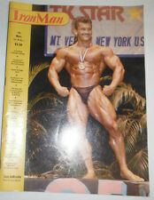 Iron Man Magazine Lee LaBrada The Role Of Concentration November 1986 110414R