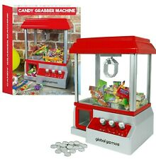 Candy Sweet Grabber Machine Electronic Kids Fun Arcade Claw Toy Gift Game Gadget