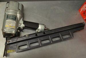 "Hitachi NR 83A2(S1) 3-1/4"" Framing Strip Nailer GOOD WORKING CONDITION"