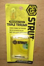 Hs Hunters Specialties 05901 Triple Trauma Premium Flex Turkey Call New