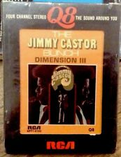 LP THE JIMMY CASTOR BUNCH DIMENSION III 1973 RCA QUAD SEALED QUADRAPHONIC