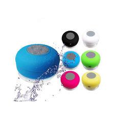 Bluetooth inalámbrico ducha altavoz impermeable Auto Azul Baño Mic