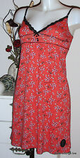 Vive Maria Modal Kleid cotton Dress S 36 Irma La Douce rosa rot red rosaNEU