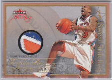 Stephen Marbury 2004 05 Fleer Showcase Sweet Stitches 3 Color Patch 47/50 Knicks