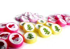 (2,35 €/100g) 210 St WeihnachtsBonbons Rocks Bonbons Mix Tischdekoration vegan