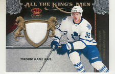 2011-12 CROWN ROYALE JOE COLBORNE JERSEY ALL THE KING'S MEN MATERIALS TORONTO