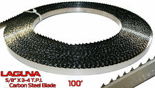 """5/8"""" Shear Force Bandsaw Blade Coil 100' Resaw Non Ferrous Metal Wood Band Saw"""