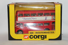 Corgi 1983 Double Deck Bus, The Army & Navy,  #469  New in Box