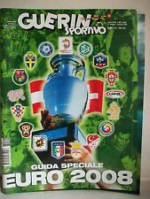 Guerin Sportivo Extra nr 22 guida a Euro 2008 - Conti Editore