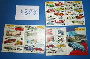N°4329 /  DINKY TOYS catalogue de la production 1971 méccano-tri-ang