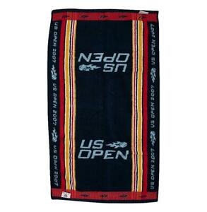 MATCH USED Roger Federer 2007 US Open Towel Autograph