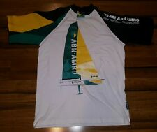 TEAM ABN AMRO IN THE VOLVO OCEAN RACE 2005-2006 SAILING NAUTICAL SHIRT MENS med