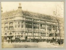 France, Paris, Le grand magasin Au Printemps, ca.1905, vintage silver print Vint