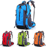 45L Waterproof Mens Womens Outdoor Travel Backpack Mountaineer Camp Hiking Bag