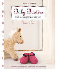 New, Made in France: Baby Booties, Caroline de Hugo, Book