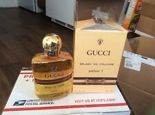 Rare Perfume Gucci Parfum Number # One 1 Splash On Cologne 125ml 4.2fl.oz Women