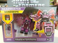 Transformers Generations Retro Reissue Headmaster Mindwipe NEW
