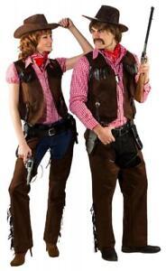 Cowboy Herrenkostüm komplett Western Outfit Herrenkostüm Themenparty Wild West