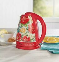 Hamilton Beach ~ The Pioneer Woman ~ Vintage Floral ~ 1.7 Liter Electric Kettle