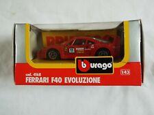 BURAGO FERRARI F40 EVOLUZIONE cod .4168 (1:43 )