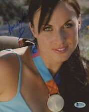 Amanda Beard Signed 8x10 Photo