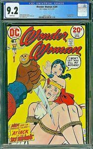 WONDER WOMAN 209 CGC 9.2 Estrada Colletta Kanigher 1974 Bondage Cover