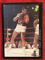 MUHAMMAD ALI-1992 CLASSIC GAMES CARD #34-WORLD CLASSIC ATHLETES-NRMT