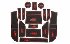 MG ZS INTERIOR DASHBOARD MAT GATE PAD TRIM SET - RED ONLY