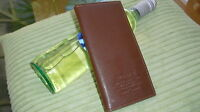 Mens Brown Real Leather Wallet By  Woerfu,New  And Sealed