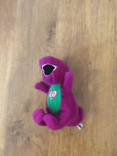 Barney Singing I Love You Plush Soft Toy Good Working Condition