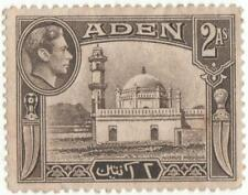 Aden 1939-48...2As sepia used stamp...S.G.20