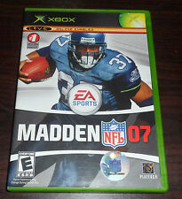 Xbox. Madden NFL 07. (NTSC USA/CAN)