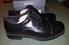 New Rockport Captoe Oxford Black Men US 10.5 XW Extra Wide Dress Shoes K58090