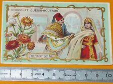 CHROMO GUERIN-BOUTRON 1905-1910 FLEURS IMMORTELLE TUNIS TUNISIE ILES DE CANDIE