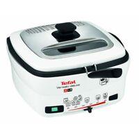Tefal FR4950 Versalio Deluxe 9-in-1 Fritteuse Multi-Cooker 1600W weiß/schwarz