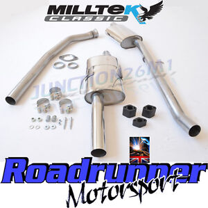 """Milltek 205 GTi Stainless Exhaust System & Downpipe 2.25"""" Manifold Back MCXPE101"""