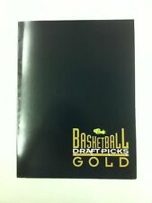 1993-94 Classic Draft Picks Gold Basketball Promotional Pamphlet Webber/Hardaway