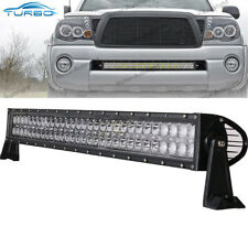 """For 05-15 Toyota Tacoma 30"""" 180W LED Light Bar Front Hidden Bumper Driving Lamp"""