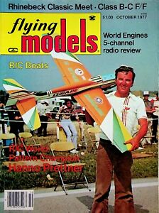 Vintage Flying Models Magazine October 1977 World Engines 5 Channel Review m276