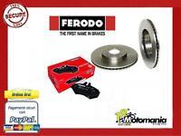 DDF083 DISCHI FRENO + FDB351 PASTIGLIE FIAT PANDA 1.0 1.1 FIRE 750 900 1000 1100
