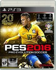 NEW Pro Evolution Soccer PES 2016 (Sony PlayStation 3, 2015)