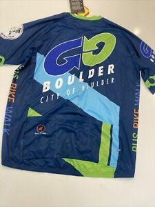 Pactimo Cycling Jersey New Men's 3XL Boulder, Co Cycling
