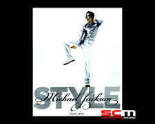 MICHAEL JACKSON STYLE BOOK BY STACEY APPEL P+H INCLUDED IN OUR PRICE BRAND NEW!