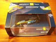 1/43 Renault F1 R24 2004 #7 Jarno Trulli y #8 Fernando Alonso