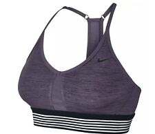 Nike Indy Cooling Light Support Bra (Dark Raisin) - Large - New ~ 832092 539