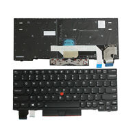 New Keyboard for Lenovo ThinkPad X280(Black Frame,With Point stick)US 01YP069