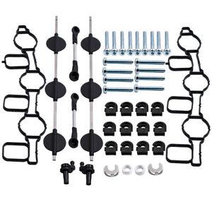 Intake Manifold Swirl Flaps Kit Set for Audi A4 A5 A6 A7 A8 Q5 Q7 VW  Brand New