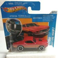 MATTEL HOT WHEELS MUSCLE MANIA 1970 FORD MUSTANG MACH 1 - SEALED BLISTER PACK