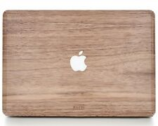 "Macbook Wood Cover Air Pro 12"" 13"" 15"" inch by WOODWE | Walnut | Skin Case"